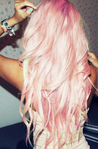 Platinblonde Haare Rosa Silbergrau Färben Frisur Friseur Tönen