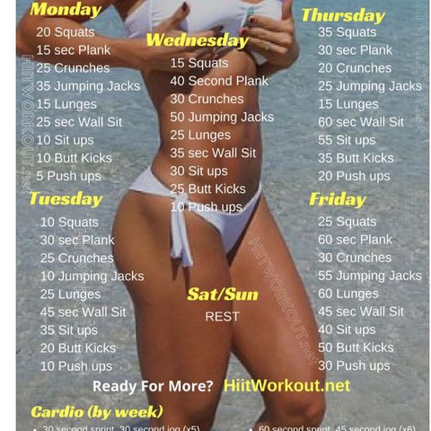 So das ist der Trainingsplan was hättet ihr für vorschlähe - (Internet, Youtube, Fitness)