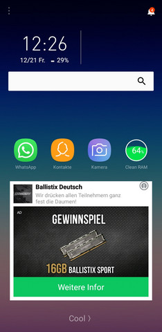 - (Handy, Werbung, Virus)