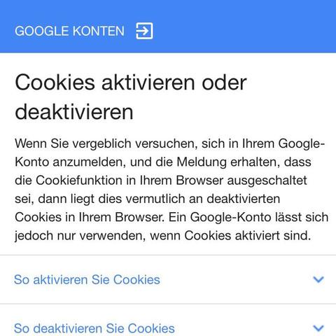 Screenshot nach der Anmeldung - (Spiele, Games, Google)