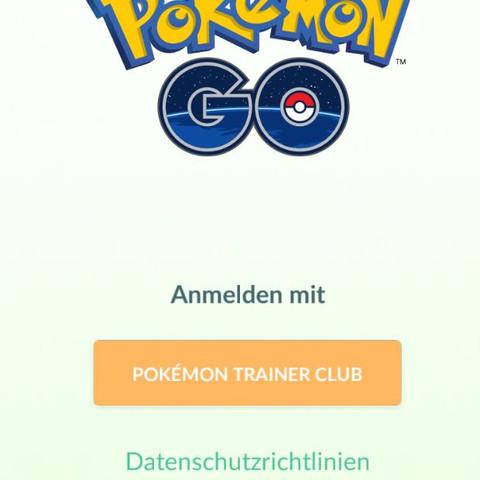 So da steht nur mit pokemon Trainer Club anmelden  - (Spiele, App, Pokemon)