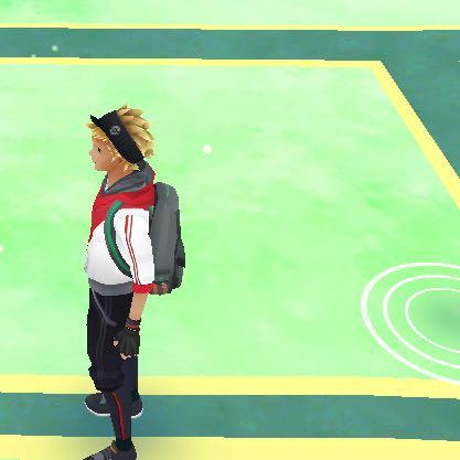 Der Kreis rechts unten  - (Pokemon, Go)