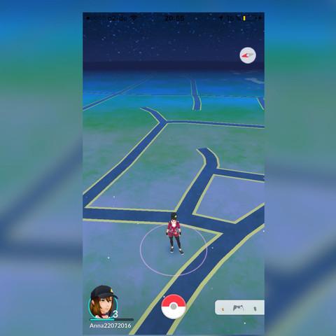 """er hat gesagt das da oben rechts iwie so was mit """"A"""" stehen soll und aktivieren  - (Handy, Pokemon Go)"""