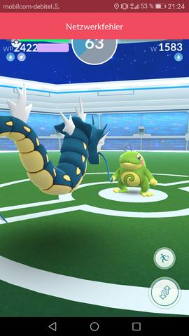 Fehler 2 - (Fehler, Pokemon Go, Arena)