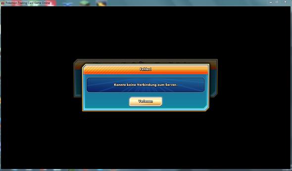 Dieses Problem tritt jedes Mal auf. - (online, Pokemon, Karten)