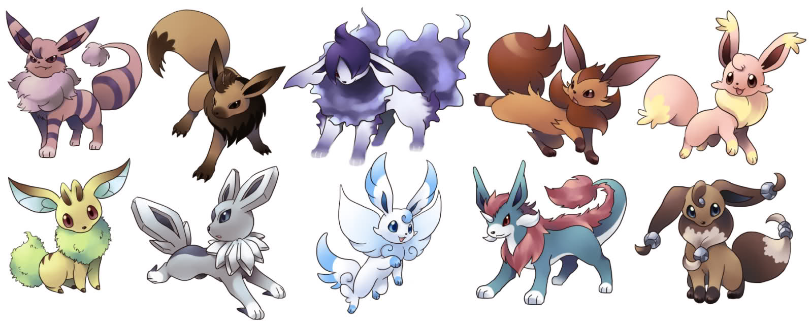 Pokemonfiguren schwarze wei e edition 1 2 und x y anime pokemon x und y - Pokemon famille pikachu ...