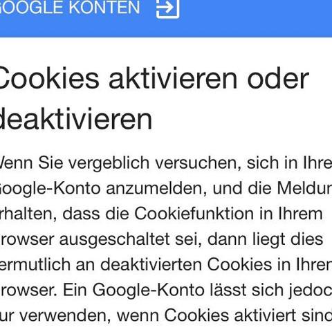 nach dem Eingeben der Daten - (iPhone, App, Google)