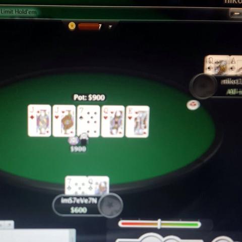 Hier die Situation - (verloren, Poker)