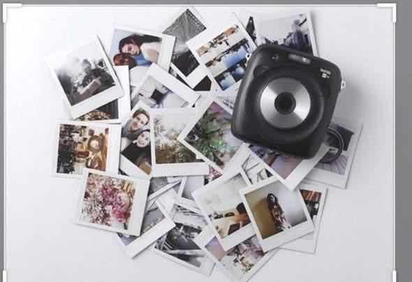 polaroid bilder ohne instax?