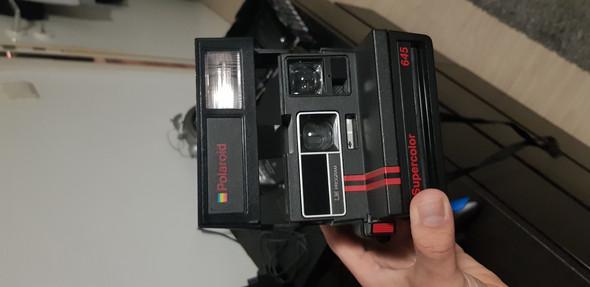 Polaroid kamera, film rausnehmen?