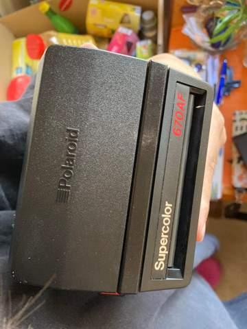 Polaroid spinnt?