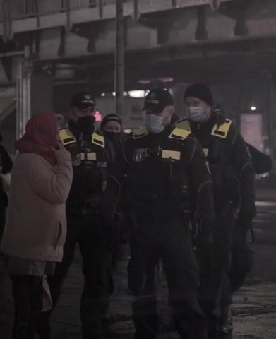 polizei gelb schwarz?