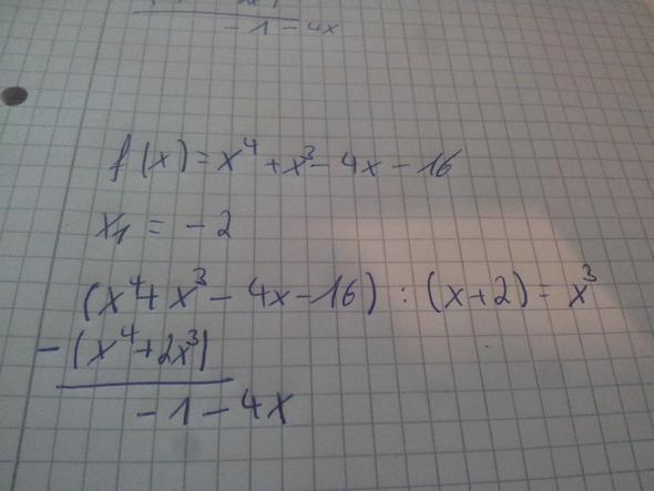 polynomdivision - (Mathe, Mathematik, Physik)