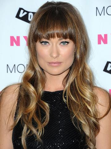 olivia wilde mit pony + ombré hair :) - (Haare, Beauty, Styling)
