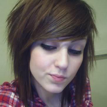Pony Und Brille Haare Frisur Emo