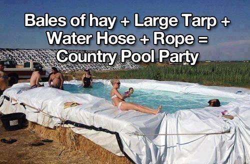 Do It Yourself Pool - (DIY, Folie, Pool)