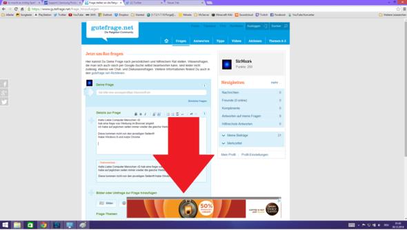 Handy Browser Werbung