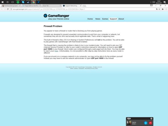 Meldung - (Internet, Router, Port)