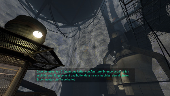 Screenshot des fehlers - (Grafik, portal 2)