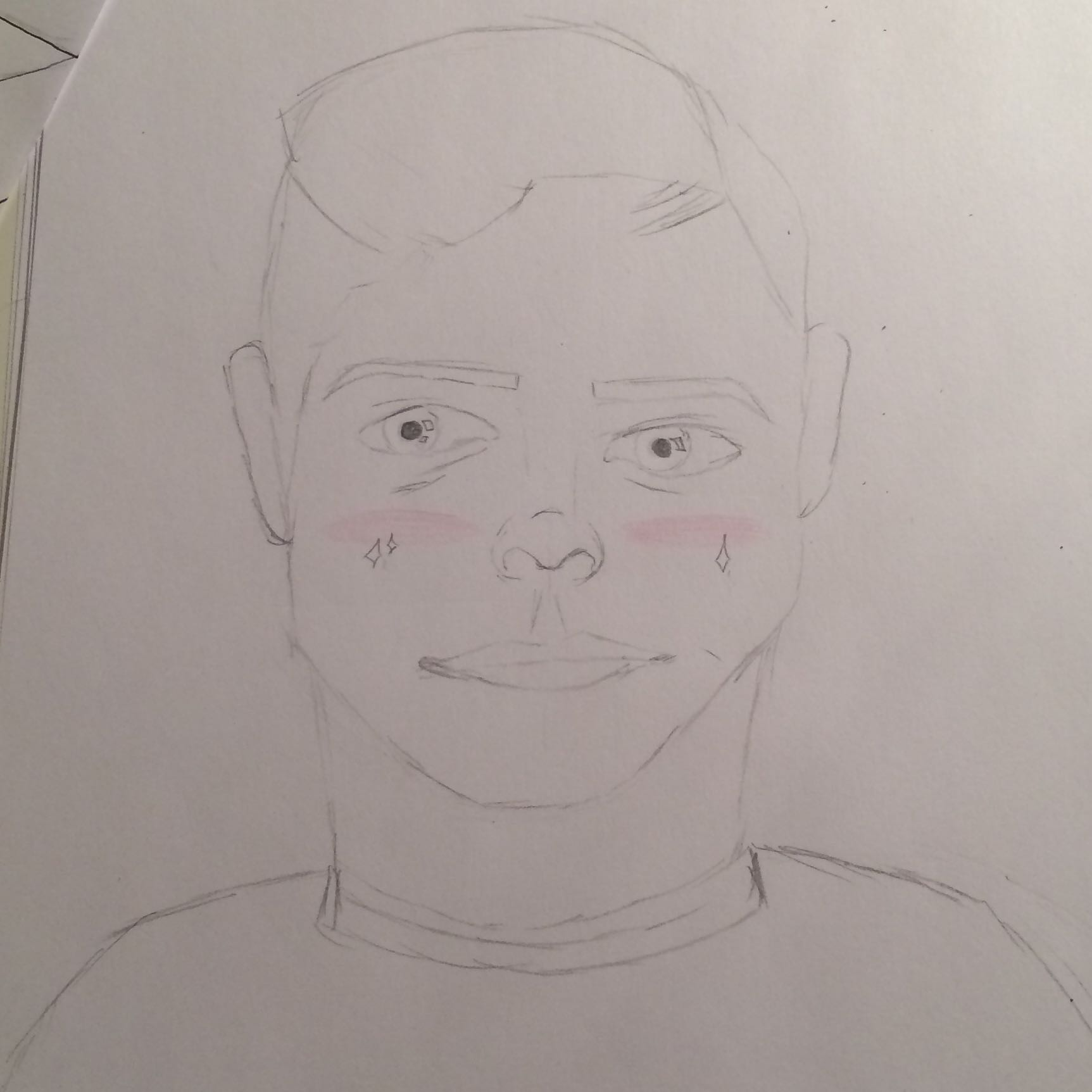 Portraits Zeichnen Hilfe! (Schule, Kunst, Pubertät