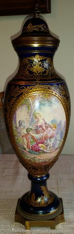 Deckelvase - (vase, Urne, Deckelvase)