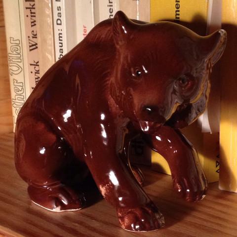 Porzellanfigur Bär, welche Manufaktur?