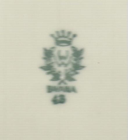Porzellanmarke, Bodenmarke für Bavaria Porzellan  kann nicht gefunden werden!