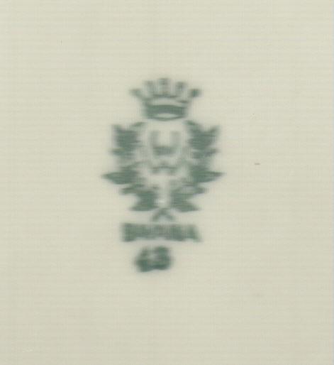 porzellanmarke bodenmarke f r bavaria porzellan kann nicht gefunden werden. Black Bedroom Furniture Sets. Home Design Ideas