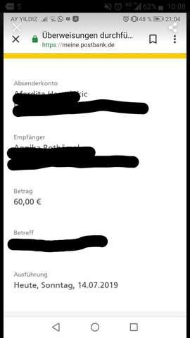 - (Geld, Bank, Betrug)