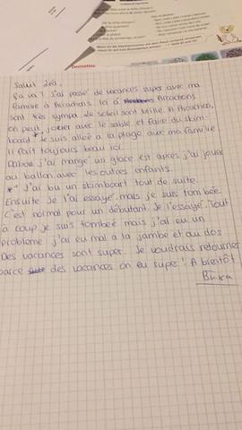 Auf Französisch