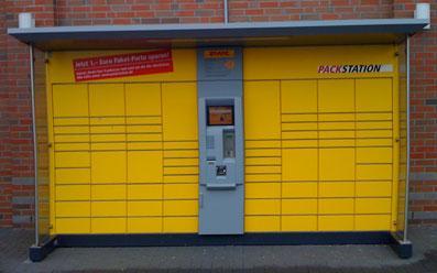 DHL Packstation - (Post, Paket, DHL)