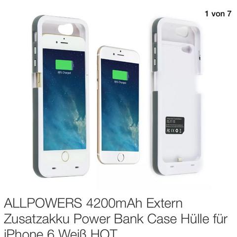 Für 15,99 ist die  - (Akku, iphone6, Powerbank)