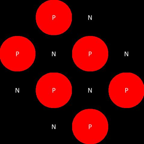 Atom mit Lücken :-( - (Powerpoint, Kreis, Ausrichtung)