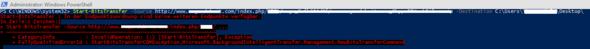 PowerShell Befehl & Fehler - (Programm, programmieren, Fehler)
