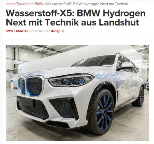 Preis BMW X5 Wasserstoff?