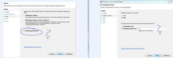 Windows Firewall Port 80 einfach blockieren? Dort wird ja besinders gerne DDoS'd - (PC, Windows 7, Viren)