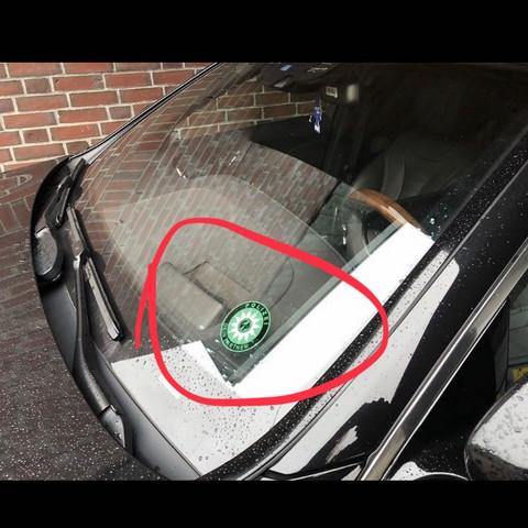 Privates Polizei Auto