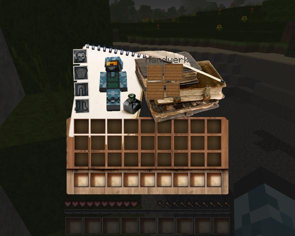 Inventar - (Minecraft, Texturen, Pack)