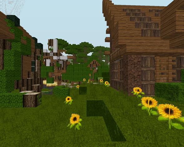 Das WUNDERSCHÖNE Holz - (Minecraft, Texturen, Pack)