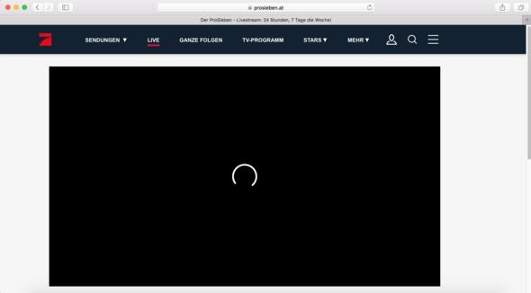Pro7 Live Stream Funktioniert Nicht