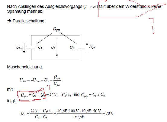 Lösung - (Physik, Elektronik, Elektrotechnik)
