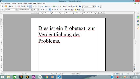 Verdeutlichung des Problems - (Computer, Software, OpenOffice)