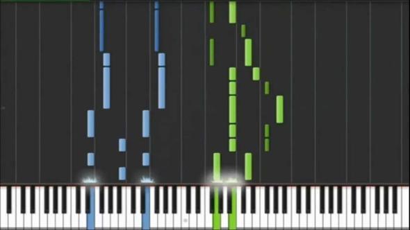 piano tutorial - (lernen, Klavier, Hand)