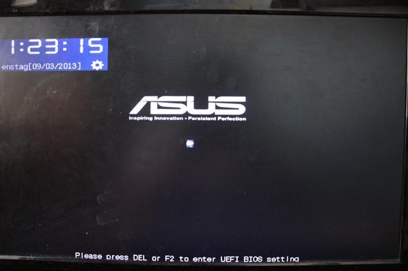 Nachdem ich das UEFI gestartet habe - (Computer, Grafikkarte, Informatik)