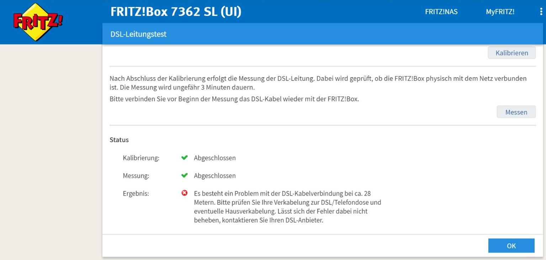 Problem mit FritzBox-Kabel? (Internet, Router, DSL)