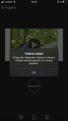Problem mit iMovie beheben?