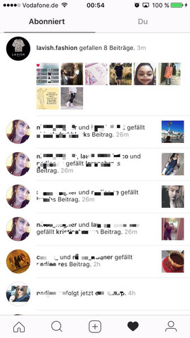 Geliked instagram ausversehen Hat SPON