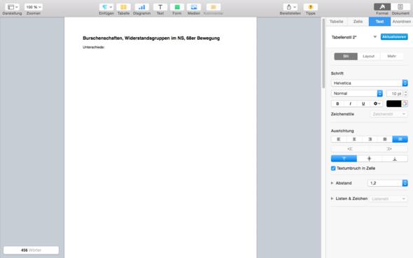 erste Seite - (Computer, Apple, Mac)
