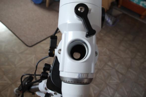 Problem mit polsucher am teleskop? technik wissenschaft astronomie