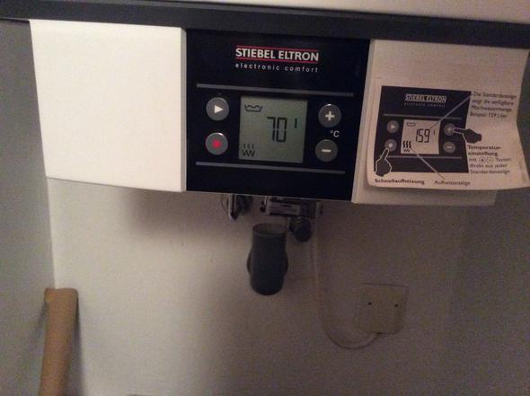Warmwasserboiler Stiebel Eltron problem mit stiebel eltron heißwasser (haushalt, reparatur, boiler)